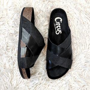 Sam Edelman Circus | Allison Black Slip On Sandals
